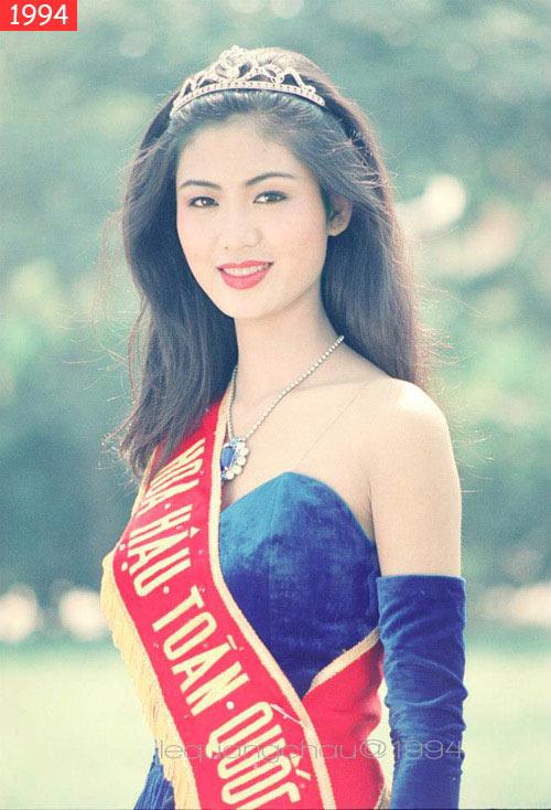 Nguyễn Thu Thủy - Miss Vietnam 1994 - Miss Vietnam World