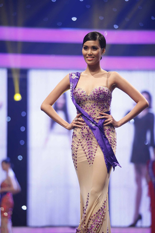 Tran Ngoc Lan Khue - Miss Vietnam World 2015