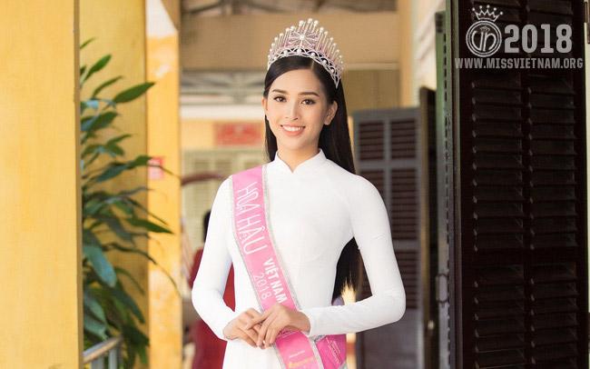 Tran Tieu Vy - Miss Vietnam 2018