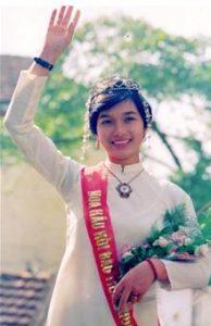 Bui Bich Phuong - Miss Vietnam in 1988