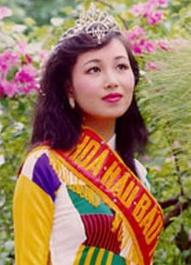 Nguyen Dieu Hoa - Miss Vietnam 1990