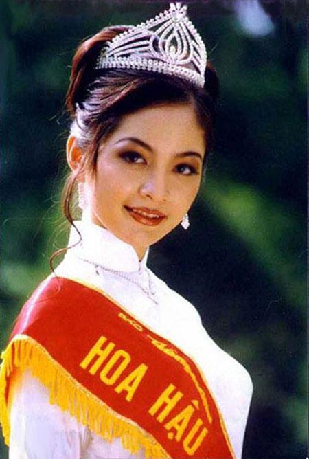 Nguyen Thien Nga - Miss Vietnam 1996
