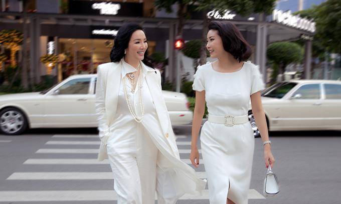 Ha Kieu Anh ft Giang My street style