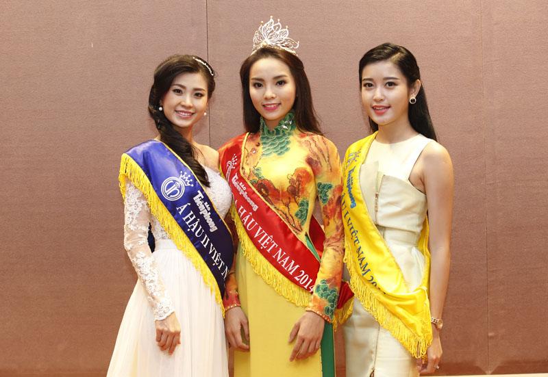 TOP 3 Miss Vietnam 2014