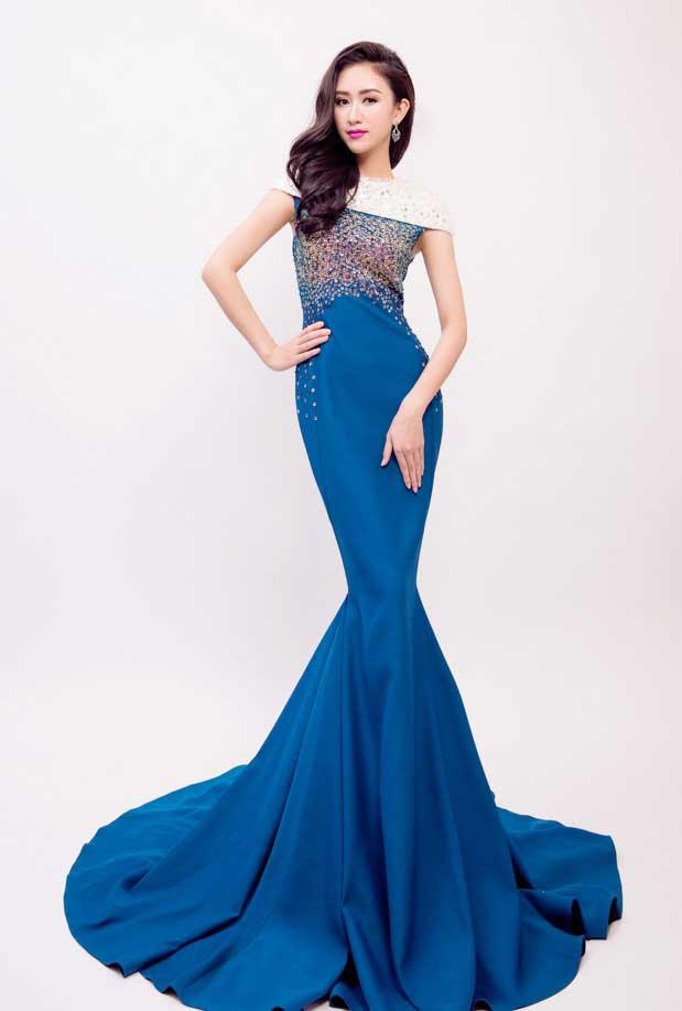 Miss Ha Thu - Traditional beauty of Vietnamese Women